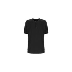 Imperial T-shirt Uomo Nero Con Bottoni art.TH11ABJTD NER