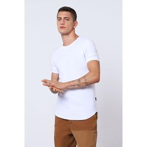 Imperial T-shirt Bianca Uomo Con Cucitura Dettaglio Sulla Schiena art. T084AAXL