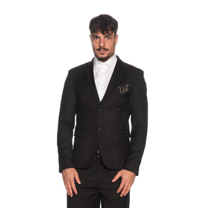 Giacca Uomo Imperial Nera Slim Fit Con Dettaglio Finitura Tasca art. JZX1ABZ NER
