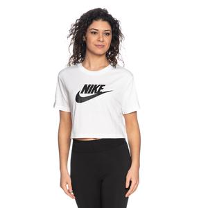 Tshirt Nike Crop Bianca Essential Donna Maglia corta sportswear Art. BV6175 100