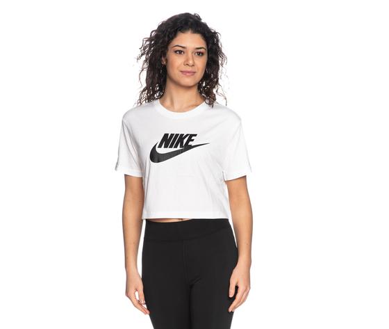 Tshirt nike crop bianca essential donna maglia corta sportswear art. bv6175 100 %281%29