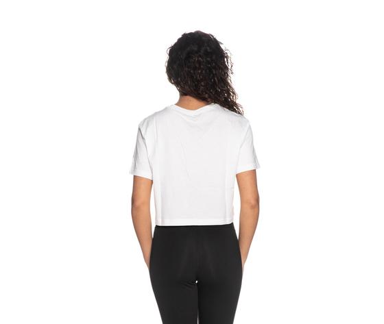 Tshirt nike crop bianca essential donna maglia corta sportswear art. bv6175 100 %282%29