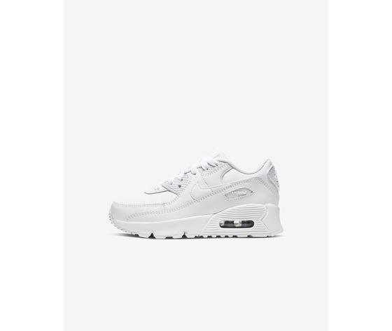 Nike air max '90 bianca ragazzi art. cd6864 100