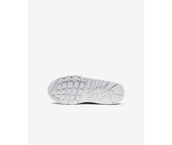 Nike air max '90 bianca ragazzi art. cd6864 100 1