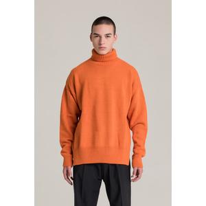 I'm Brian Maglia Uomo Collo Alto Oversize Arancione art. MA1536 AR