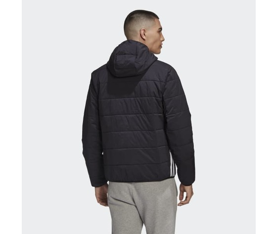Giubbotto nero uomo adidas lightweight zip through trefoil giacca imbottita art. ge1342 2