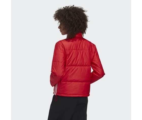 Short puffer donna rosso giacca imbottita corta adidas originals art. gk8556 3
