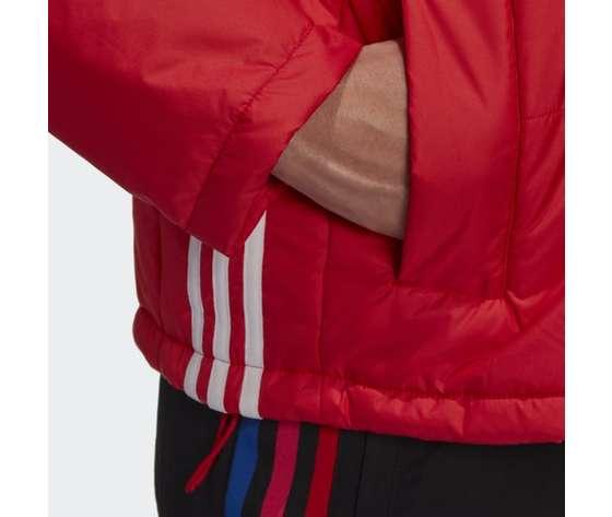 Short puffer donna rosso giacca imbottita corta adidas originals art. gk8556 6