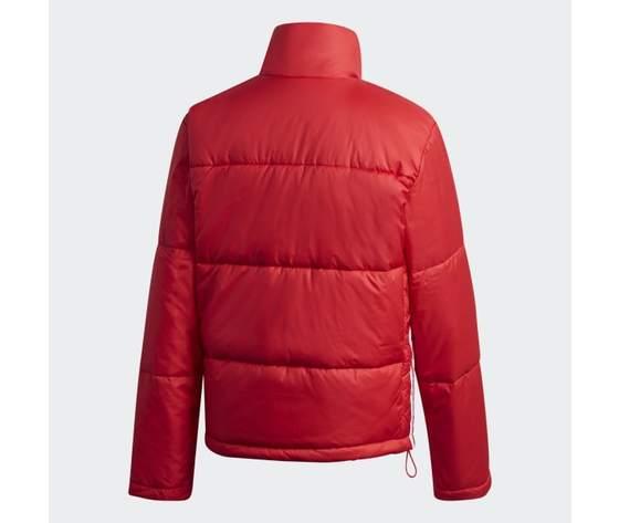 Short puffer donna rosso giacca imbottita corta adidas originals art. gk8556 7