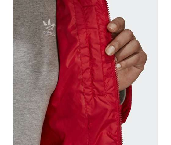 Short puffer donna rosso giacca imbottita corta adidas originals art. gk8556 1