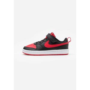 Scarpe Bambino Rosso Nero Chiusura Strappo e Lacci Nike Court Borough art. BQ5453 007