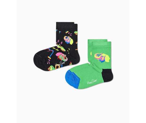 Calze bambino fantasia elefanti happy socks kids elephant sock art. kele02 0100