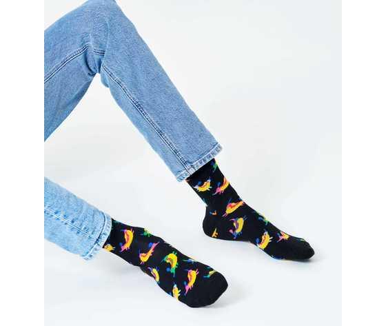 Calze uomo hot dog dog sock happy socks art. hdd01 9000 %281%29