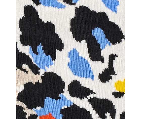 Calze donna fantasia leopardato happy socks leopard sock art. nle01 1900 %281%29