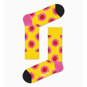 Calze Donna Fantasia Smile Fiori Happy Socks Smile Flower Sock art. SMF01 2200