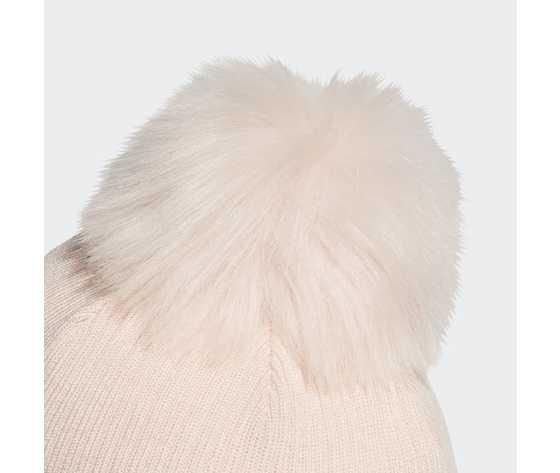 Berretto rosa con pom pon adidas faux fur pompom beanie pink art. gd4761 2