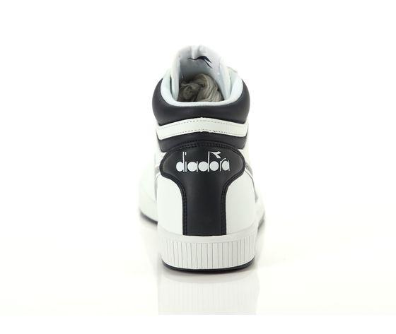 Scarpe unisex game p high bianco  blu diadora alte sneakers art. 160277 c4656 %284%29