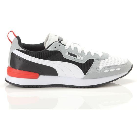 Scarpe uomo puma r78 grigio  bianco  nero sneakers basse art. 373117 23 1