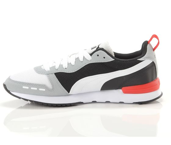 Scarpe uomo puma r78 grigio  bianco  nero sneakers basse art. 373117 23 4