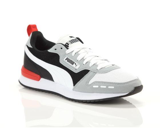 Scarpe uomo puma r78 grigio  bianco  nero sneakers basse art. 373117 23