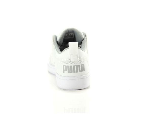 Scarpe unisex puma bianco rebound layup low jr sneakers basse art. 370490 03 2