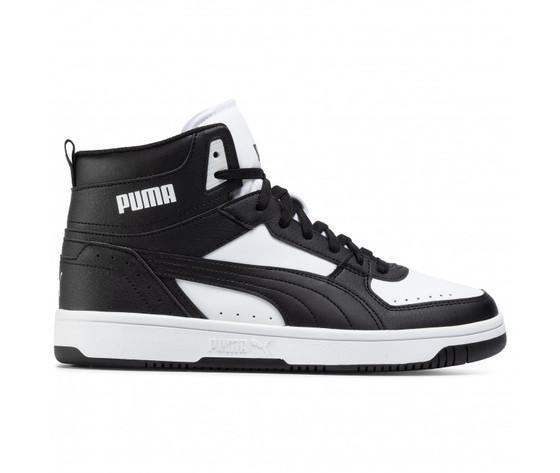 Scarpe uomo puma rebound joy nero  bianco sneakers alte art. 374765 01
