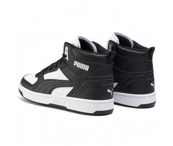 Scarpe uomo puma rebound joy nero  bianco sneakers alte art. 374765 01 2