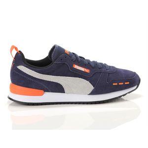 Scarpe Uomo Puma R78 Blu / Grigio / Arancio Sneakers Basse art. 68588 02