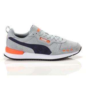 Scarpe Uomo Puma R78 Grigio / Blu / Arancio Sneakers Basse art 68588 03