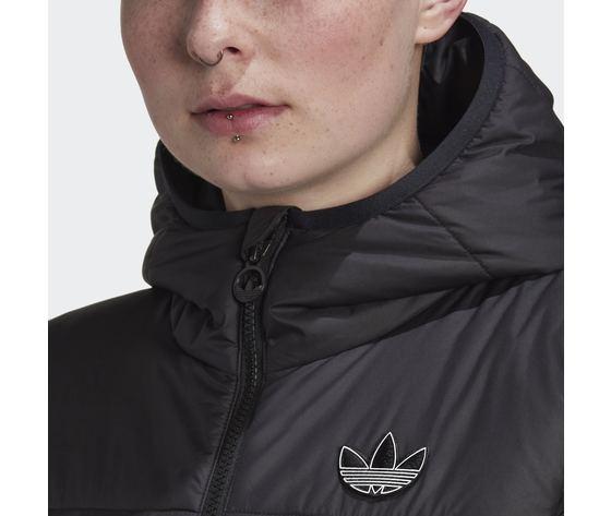 Giubbotto donna nero adidas originals giacca slim art. gd2507 2
