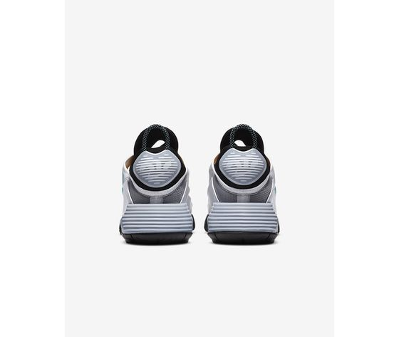 Scarpe uomo nike air max 2090 bianco nero speed yellow bleached aqua sneakers basse art. ct1091 100 5