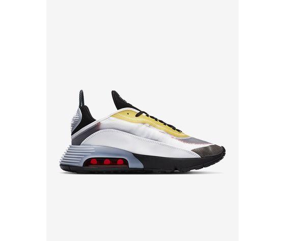 Scarpe uomo nike air max 2090 bianco nero speed yellow bleached aqua sneakers basse art. ct1091 100 2