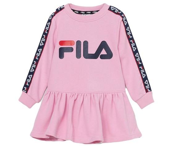 Vestitino rosa bambina fila  paula fila felpa rosa art. 688031 a755