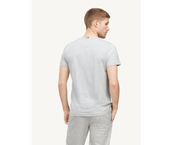 T shirt tommy hilfiger grigia cotton flag logo art. mw0mw14313pg5 1