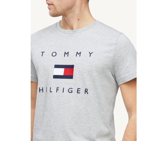 T shirt tommy hilfiger grigia cotton flag logo art. mw0mw14313pg5 2