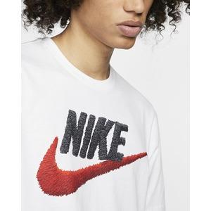 Tshirt bianca Nike Uomo Icon Logo Futura art. AR4993 100