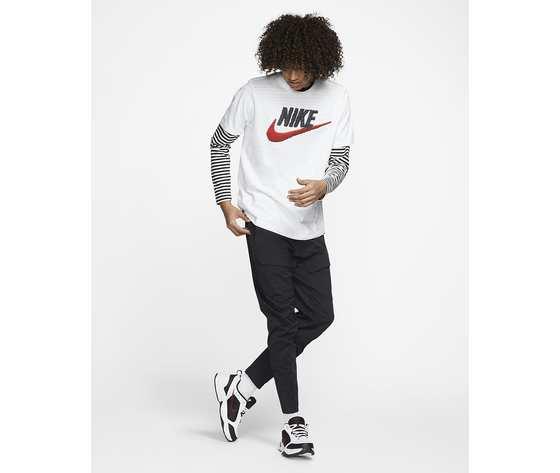 T shirt bianca nike uomo icon futura art. ar4993 100  1
