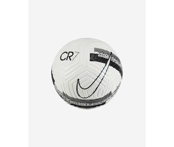 Pallone da calcio nike strike cr7 bianco nero 5 art. cu8557 100