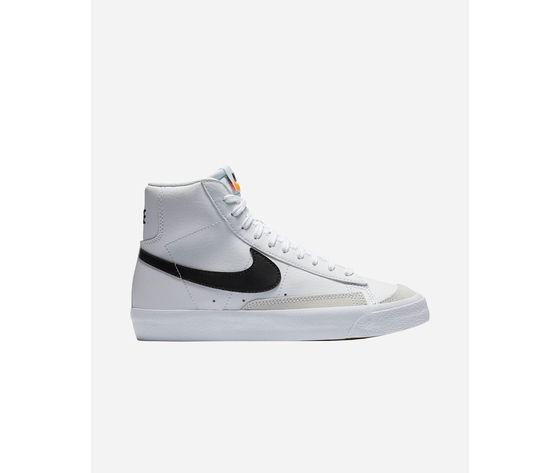 Scarpe nike blazer mid '77 gs jr bianche sneakers ragazzi art. da4086 100