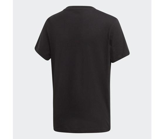 T shirt adidas nera e bianca bambini trefoil oversize art. dv2905 12
