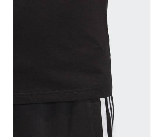 T shirt adidas nera e bianca bambini trefoil oversize art. dv2905 1
