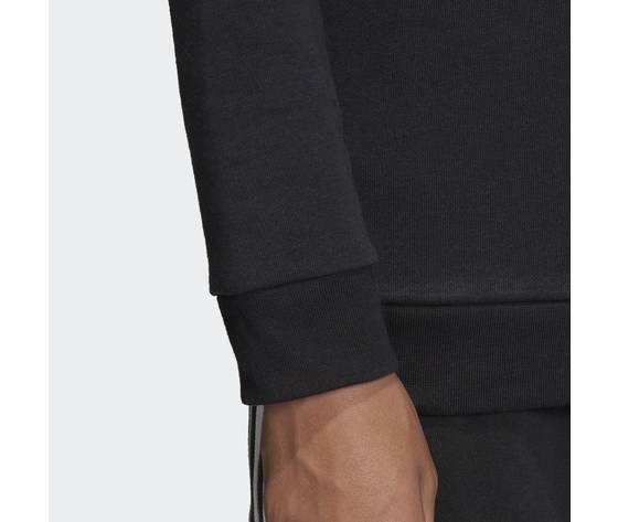 Felpa nera ragazzi girocollo adidas originals trefoil crew art. ed7797 3
