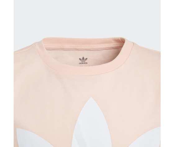 T shirt rosa e bianca bambina adidas original trefoil art. gd2681 2
