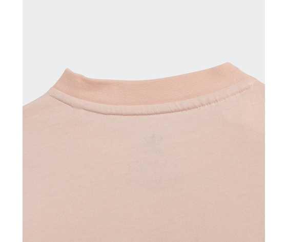 T shirt bambina rosa stampa floreale adidas originals trefoil tee haze coral multicolor art. gd2887 1