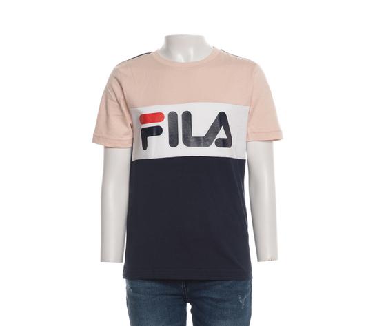 T shirt bambina fila cipria bianco blu teens unisex marina multicolor art. 688141 a898 2 %282%29