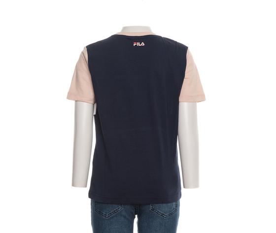 T shirt bambina fila cipria bianco blu teens unisex marina multicolor art. 688141 a898 2 %284%29