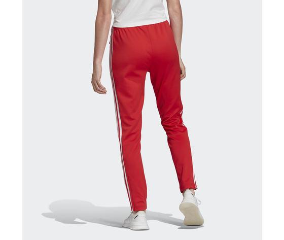 Pantalone donna rosso adidas track pants sst strisce laterali bianche art. fm3319 222