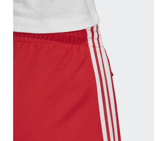 Pantalone donna rosso adidas track pants sst strisce laterali bianche art. fm3319 2