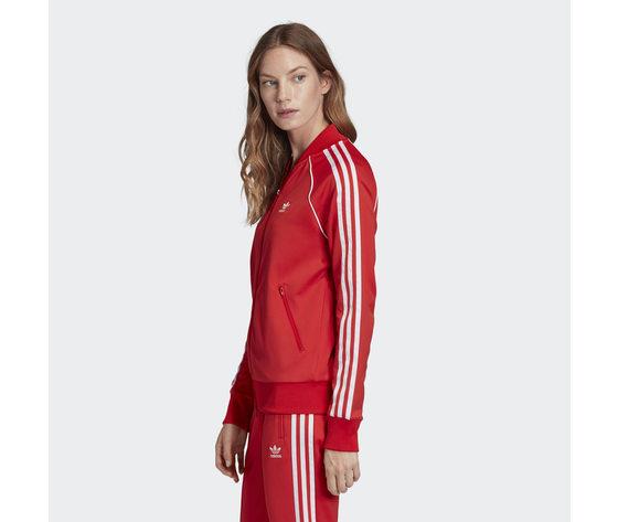 Giacca donna rossa adidas originals track jacket sst art. fm3313 1