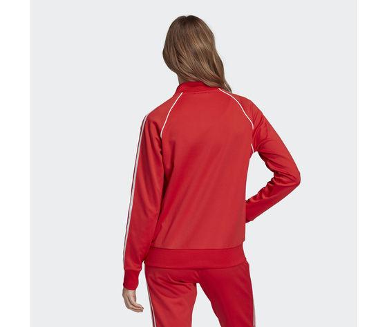 Giacca donna rossa adidas originals track jacket sst art. fm3313 2